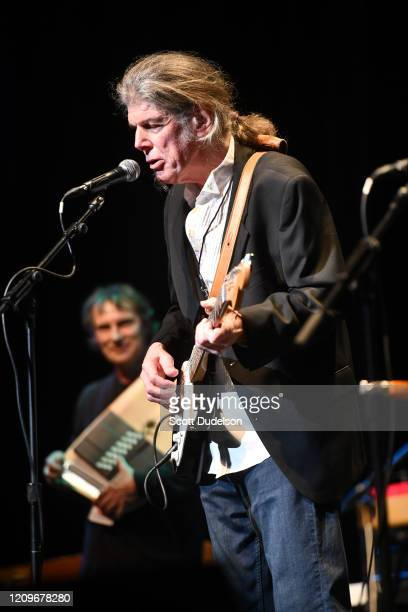 Singer Peter Lewis founding member of Moby Grape performs onstage during the Wild Honey Foundation's benefit for Autism Think Tank at Alex Theatre on...