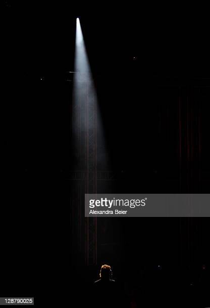 Singer Peter Maffay attends the 'Wetten dass' Show at the Messehalle on October 8 2011 in Nuremberg Germany