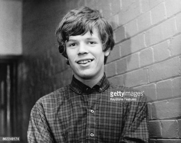 Singer Peter Noone of English beat rock band Herman's HermitsNovember 1964