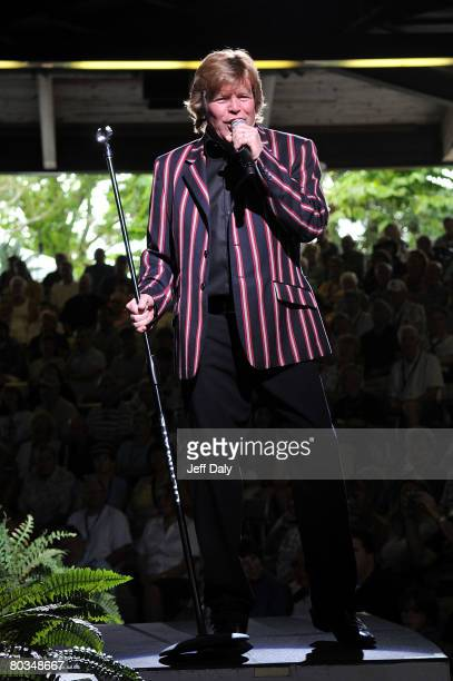 Singer Peter Noone of Herman's Hermit's performs live at Busch Gardens on March 22 2008 in Tampa Florida
