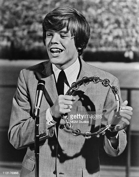Singer Peter Noone of Herman's Hermits starring in the MGM film 'Hold On' in 1966