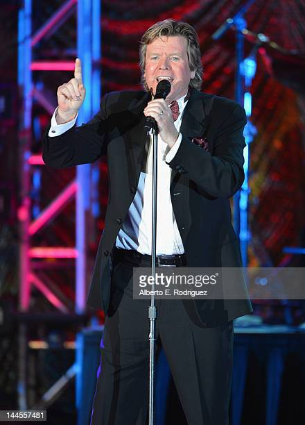 Singer Peter Noone performs at the 60th Annual BMI Pop Music Awards on May 15 2012 in Beverly Hills California