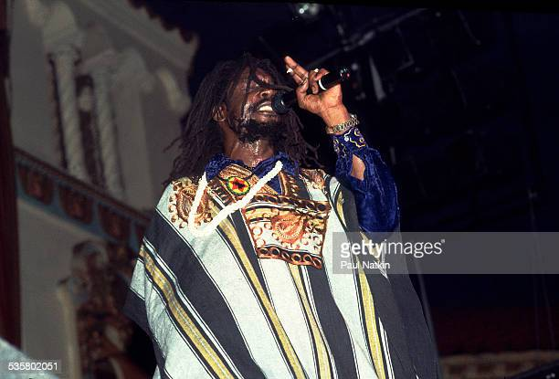 Singer Peter Tosh at the Aragon Ballroom Chicago Illinois July 15 1983