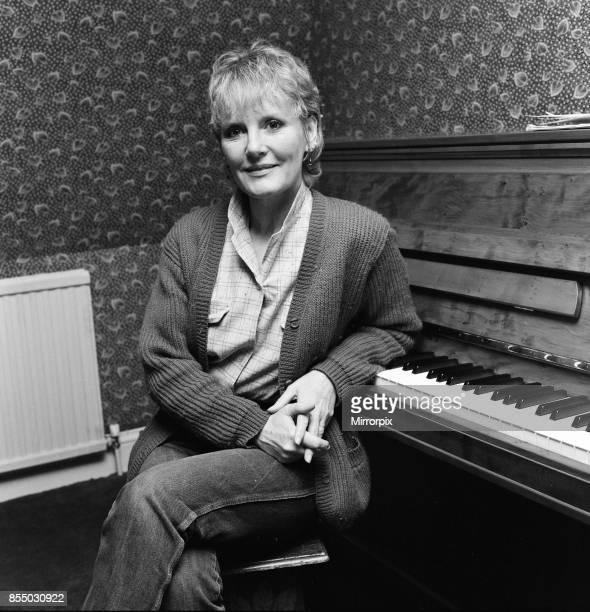 Singer Petula Clark 10th February 1981