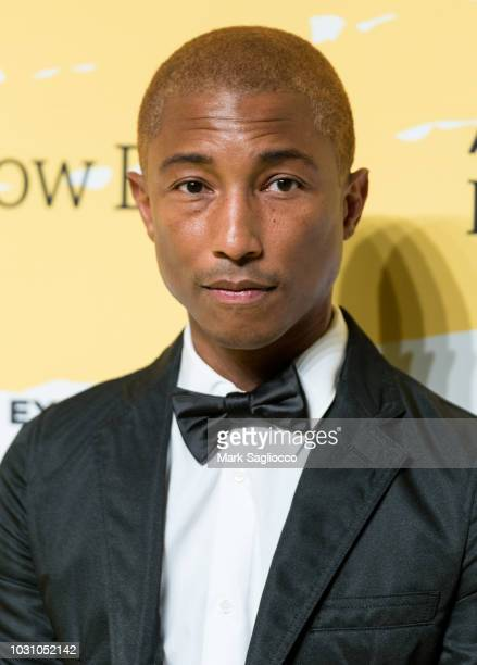 Singer Pharrell Williams attends the Yellow Ball at the Brooklyn Museum on September 10 2018 in New York City