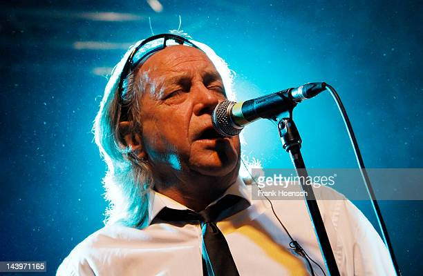 Singer Phil May of the band The Pretty Things performs live during a concert at the CClub on May 6 2012 in Berlin Germany