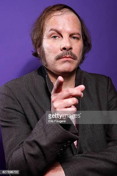 Singer Philippe Katerine Photographed in PARIS