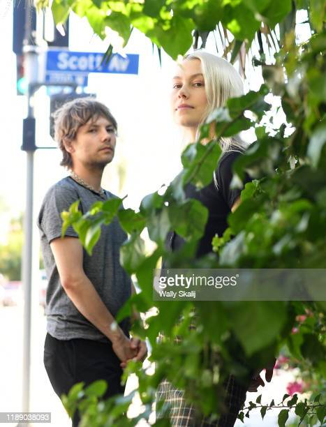 Singer Phoebe Bridgers and drummer Marshall Vore are photographed for Los Angeles Times on August 30 2019 in Los Angeles California PUBLISHED IMAGE...