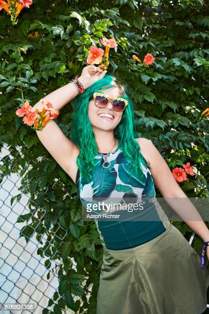 Singer Phoebe Ryan is photographed for Billboard Magazine on August 19, 2017 at the Billboard Hot 100 Music Festival at Northwell Heath at Jones...