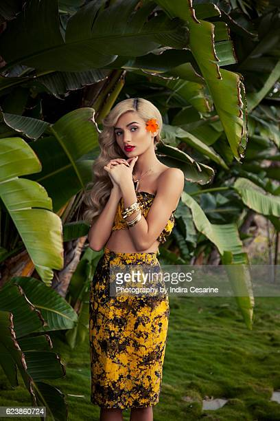 Singer Pia Mia is photographed for The Untitled Magazine on January 21 2014 in Los Angeles California CREDIT MUST READ Indira Cesarine/The Untitled...