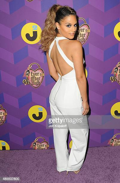 Singer Pia Toscano arrives at Just Jared's Way To Wonderland Presented By Ever After High at Greystone Manor Supperclub on August 27 2015 in West...