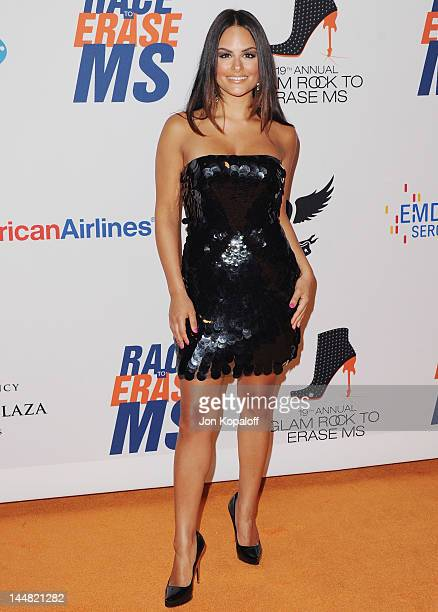 Singer Pia Toscano arrives at the 19th Annual Race To Erase MS Event at the Hyatt Regency Century Plaza on May 18 2012 in Century City California