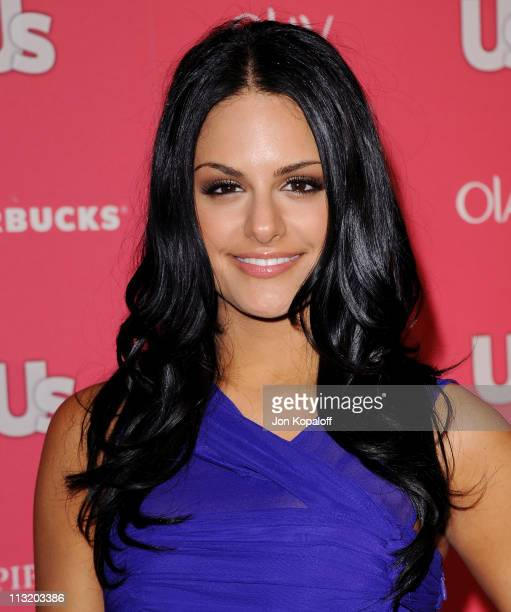 Singer Pia Toscano arrives at Us Weekly's 2011 Hot Hollywood Party at Eden on April 26 2011 in Hollywood California