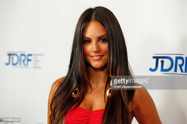 Singer Pia Toscano attends JDRF's 9th Annual Gala 'Finding A Cure The Love Story Gala' at the Hyatt Regency Century Plaza on May 19 2012 in Los...