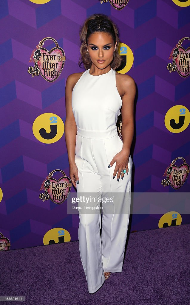 Singer Pia Toscano attends Just Jared's Way to Wonderland presented by Ever After High at Greystone Manor Supperclub on August 27, 2015 in West Hollywood, California.