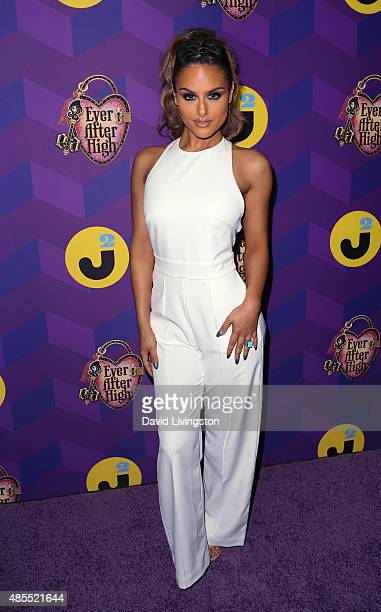 Singer Pia Toscano attends Just Jared's Way to Wonderland presented by Ever After High at Greystone Manor Supperclub on August 27 2015 in West...