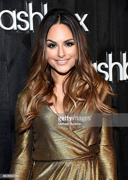 Singer Pia Toscano attends Smashbox Studios Celebrates Grand ReOpening at Smashbox Studios on February 5 2015 in Culver City California