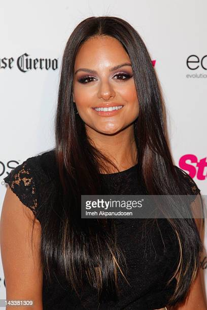 Singer Pia Toscano attends Star Magazine's 'All Hollywood' event at AV Nightclub on April 24 2012 in Hollywood California