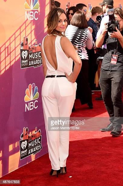 Singer Pia Toscano attends the 2014 iHeartRadio Music Awards held at The Shrine Auditorium on May 1 2014 in Los Angeles California iHeartRadio Music...