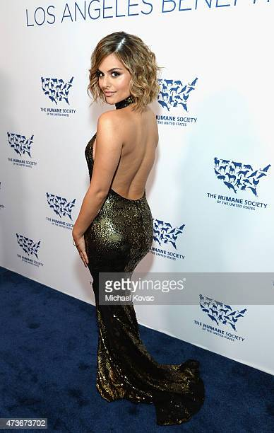 Singer Pia Toscano attends The Humane Society Of The United States' Los Angeles Benefit Gala at the Beverly Wilshire Hotel on May 16 2015 in Beverly...