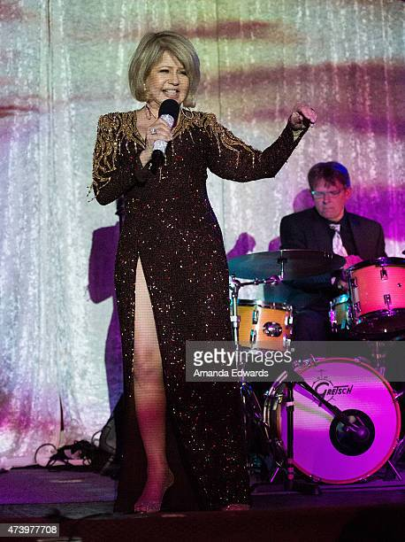 Singer Pia Zadora performs her show Pia Reloaded at The Catalina Jazz Club Bar Grill on May 18 2015 in Hollywood California