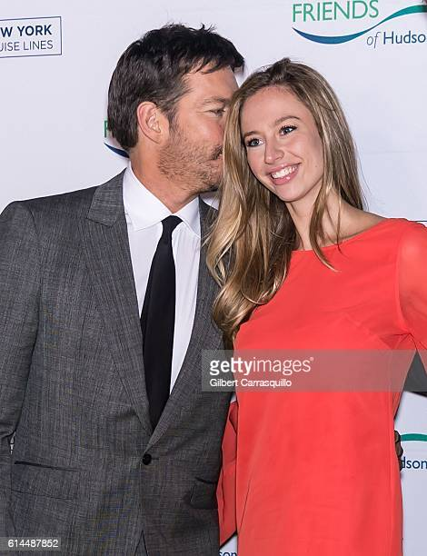 Singer pianist talk show host actor Harry Connick Jr and Georgia Tatum Connick attend the 2016 Friends Of Hudson River Park Gala at Hudson River...