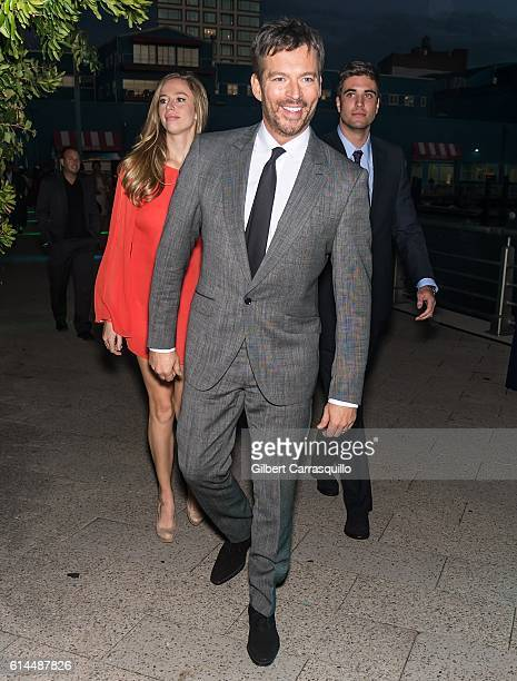 Singer, pianist, talk show host, actor, Harry Connick Jr., Georgia Tatum Connick and guest attend the 2016 Friends Of Hudson River Park Gala at...