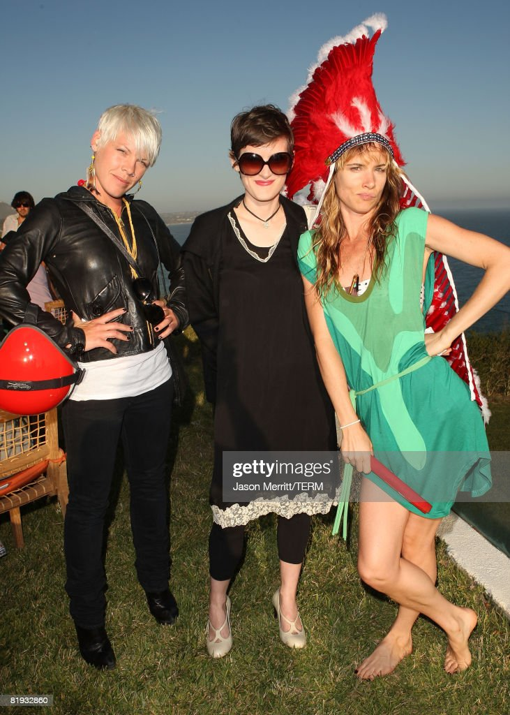 Juliette Lewis Birthday Celebration At Project Beach House : News Photo