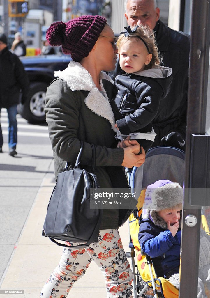 Celebrity Sightings In New York City - March 22, 2013