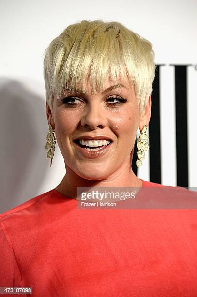 Singer Pink attends the 63rd Annual BMI Pop Awards at Regent Beverly Wilshire Hotel on May 12 2015 in Beverly Hills California