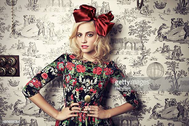 Singer Pixie Lott is photographed for Rock N Rose jewellery on October 23, 2012 in London, England.