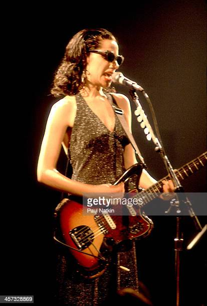 Singer PJ Harvey performs at the Metro Chicago Illinois June 20 1993