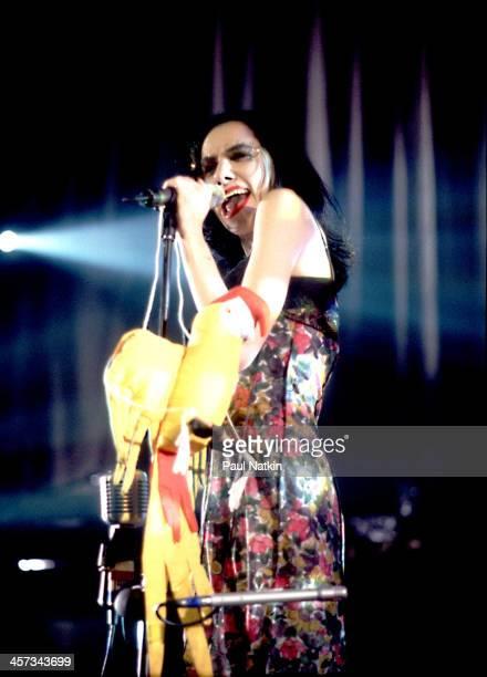 Singer PJ Harvey performs Chicago Illinois June 10 1995