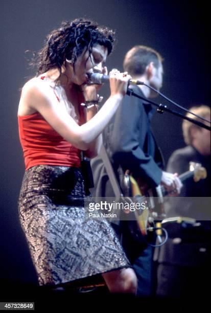 Singer PJ Harvey performs Chicago Illinois October 1 1998