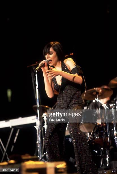 Singer PJ Harvey performs Denver Colorado April 3 2001