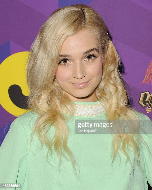 Singer Poppy arrives at Just Jared's Way To Wonderland Presented By Ever After High at Greystone Manor Supperclub on August 27 2015 in West Hollywood...