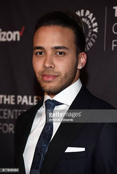 Singer Prince Royce arrive at The Paley Center for Media's Hollywood Tribute to Hispanic Achievements in Television event at the Beverly Wilshire...