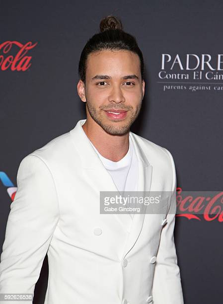 Singer Prince Royce attends the Padres Contra El Cancer's 16th annual 'El Sueno de Esperanza' celebration at The Venetian Las Vegas on August 20 2016...