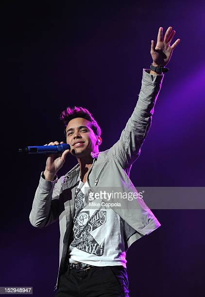 Singer Prince Royce performs at Radio City Music Hall on September 28 2012 in New York City