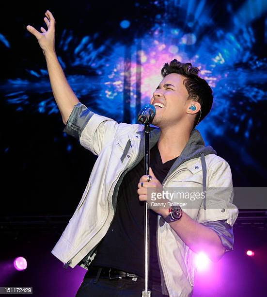 Singer Prince Royce performs onstage during People En Espanol's Festival 2012 held at the Alamodome on September 2, 2012 in San Antonio, Texas.