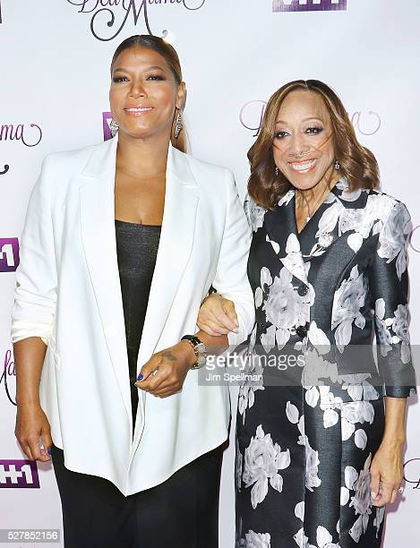 Singer Queen Latifah and her mother Rita Owens attends the VH1's Dear Mama taping at St Bartholomew's Church on May 2 2016 in New York City
