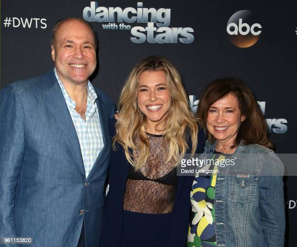 Singer Rachel Platten and parents attend ABC's 'Dancing with the Stars Athletes' Season 26 Finale on May 21 2018 in Los Angeles California