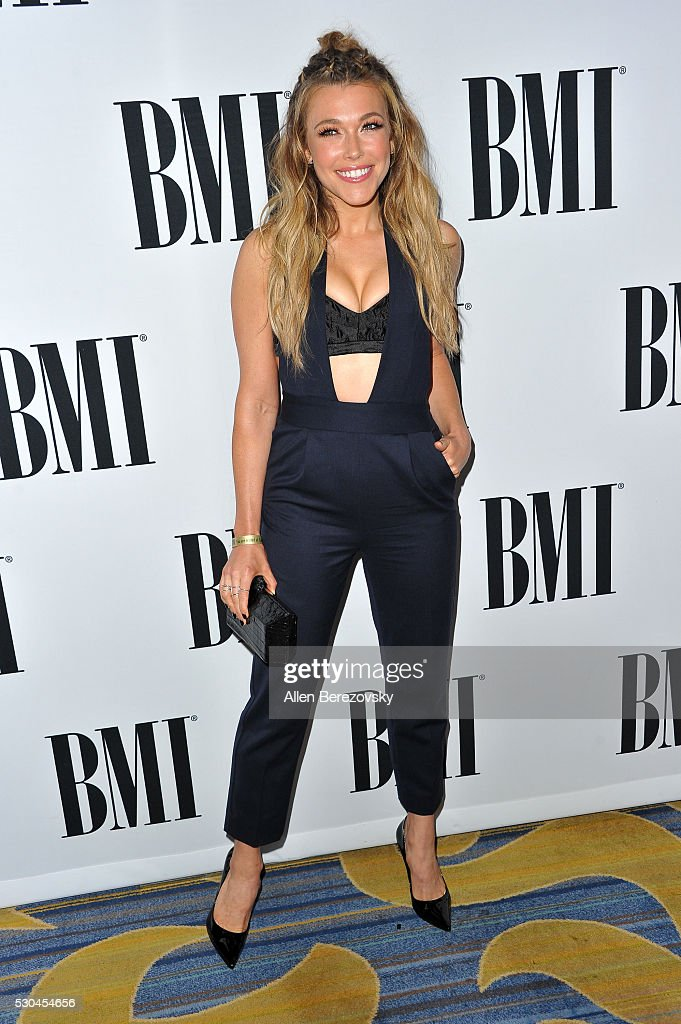 Singer Rachel Platten attends the 64th Annual BMI Pop Awards at the Beverly Wilshire Four Seasons Hotel on May 10, 2016 in Beverly Hills, California.