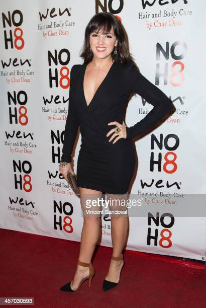 Singer Rachel Potter attends the NOH8 Campaign's 5th Annual Anniversary Celebration at Avalon on December 15 2013 in Hollywood California