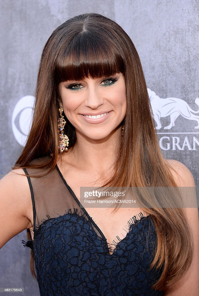 49th Annual Academy Of Country Music Awards - Red Carpet : News Photo