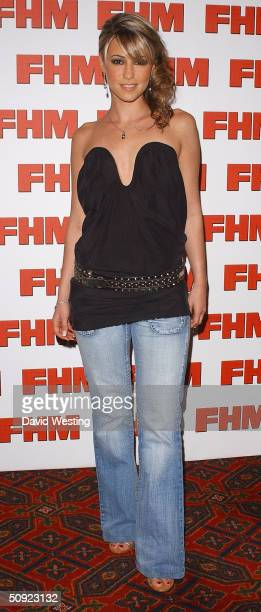 Singer Rachel Stevens attends FHM 100 Sexiest Women party celebrating the annual poll of 100 sexiest women as voted by readers of the men's magazine...