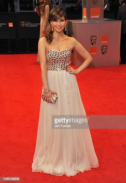 Singer Rachel Stevens attends the 2011 Orange British Academy Film Awards at The Royal Opera House on February 13 2011 in London England