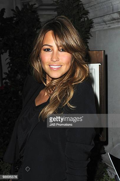 Singer Rachel Stevens attends the AUDI Arrivals at The Morgan's awards hosted by Piers Morgan at Mandarin Oriental Hyde Park on December 1 2009 in...