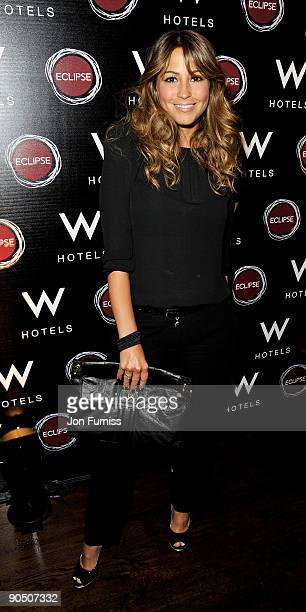 Singer Rachel Stevens attends the party to celebrate the launch of the new Eclipse bar and lounge at W Barcelona at Eclipse Chelsea on September 9...