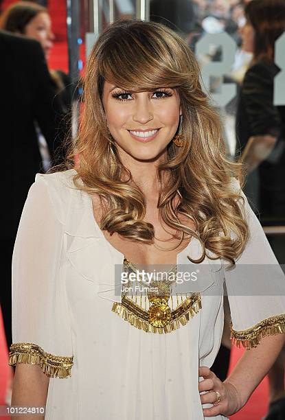 Singer Rachel Stevens attends the UK premiere of Sex And The City 2 at Odeon Leicester Square on May 27 2010 in London England